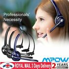 Mpow Car Trucker Wireless Bluetooth Headset Headphones with Noise Cancelling Mic