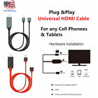Phone to TV 1080p Universal HDMI HDTV AV Adapter Cable For Cell Phone  Tablets