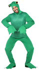 Adults Mens Ladies Green Frog Amphibian Carnival Fancy Dress Costume Outfit M-XL
