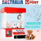 Mini Doll Toy Claw Machine Arcade Game Candy Catch Grabber With LE