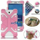 Universal 8.9-12 inch Tablet Durable Silicone Drop-resistant Stand Case Cover
