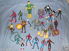 LOTS TO CHOOSE FROM SPIDERMAN MARVEL ACTION FIGURES HEROES VILAINS MULTI LISTING