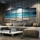5Pcs Sunset Seaside Canvas Print Art Painting Home Wall Picture Framed