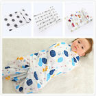 Large 120cm Breathable 100 Cotton Baby Muslin Swaddle Cloth Blanket Wrap Lovely