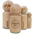 Coconut Oil Typewriter Rubber Stamp for Stamping Crafting Planners