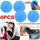 4x TUMBLE DRYER CLOTHES SOFTENER WASHING MACHINE BALLS CLOTHES SOFTNER BALL NEW