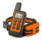 Puppy Dog Training Collar w/Remote Control Electric Shock Vibration Rechargeable
