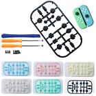 16pcs Custom Full Set Buttons With Tools Replacement For Nintendo Switch Joy-Con