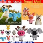 Cartoon Pet Dog Chew Toy Squeaker Squeaky Soft Plush Play Sound Puppy Teeth Toys