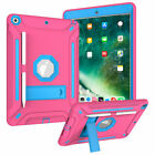 "For Apple iPad 8th Generation 10.2"" Shockproof Tough Armor Hard Stand Case Cover"