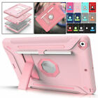 For Apple iPad 8th Generation 10.2' Shockproof Tough Armor Hard Stand Case Cover