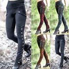 Medieval Renaissance Summer Women Gothic Steampunk Trouser Pants Cosplay Costume