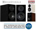 Wharfedale Diamond 12.1 Bookshelf Speakers Black, Light Oak or Walnut