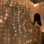 Christmas Decorations for Home 3m 300 LED Curtain String Light Flash