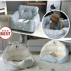Dog Car Seat Bed Travel  Seats for Small Medium Dogs Front/Back Seat Indoor/Car
