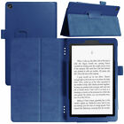 Folio Case Stand Cover For Amazon Kindle Fire HD 10 8 7 2019 9th Gen Tablet Case