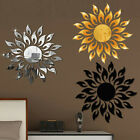 3d Mirror Sun Decals Art Wall Sticker Self-adhesive Acrylic Home Bedroom Decors