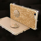 Glitter Diamond Ring Stand Slim Bumper Shockproof Case Cover For Samsung Note10