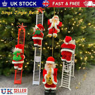 'Christmas Santa Claus Figure Climbing On Ladder Singing Electric Kids Toys Uk