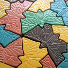 2/4Pcs Butterfly Stepping Stone Mold Concrete Cement Mould For Park Garden