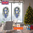 Window Snowman Wall Stickers Merry Christmas Decor Tree Xmas Santa Decal Home Uk