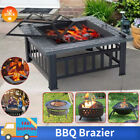 3 in 1 Outdoor Garden Large Firepit Metal Stove Brazier Patio Heater/BBQ/Ice Pit