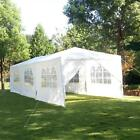 10'x20'/30' Party Canopy Tent Outdoor Gazebo Heavy Duty Pavilion Event White