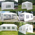 10'x20'/30' Party Wedding Tent Outdoor Gazebo Heavy Duty Pavilion Event White US