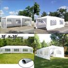 10'x20'/30' Party Wedding Tent Gazebo Heavy Duty Pavilion Event Removable Wall 8
