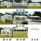 10'x10' 10'x20' 10'x30' Heavy Duty Party Tent Canopy BBQ Wedding Outdoor Gazebo