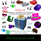 Roblox Limited LootBox -=- Bubble Trouble and More -=- Clean, Rare Roblox Items!