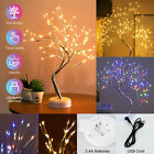 LED Tabletop Bonsai DIY Fairy Lights Tree Lamp Night Light Touch Home Decor Gift