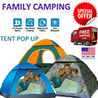 3-4 Person Tent Outdoor Family Camping Automatic Instant Hiking Beach Waterproof