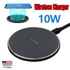 10W Fast Wireless Charger Charging Pad For iPhone XS Max Xr X 8 11/11 Pro Max US