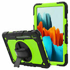 for iPad 7th 8th Gen 10.2 Air 4 10.9 Shockproof Hybrid Silicone Stand Case Cover