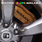 Fits Nissan 350z Brembo Brake Caliper High Temp. Decal Stickers (Set of 4)