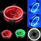 6 Pack Of Game Eclipse Max Rgb Colours Led Ring Case Fan To Pc Computer Cooling