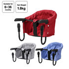 Portable Baby Highchair Foldable Feeding Chair Seat Booster Safety Be