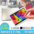 "10.1"" Tablet Android 9.0 WIFI/4G-LTE HD SIM GPS Dual Camera 800W 1300W"