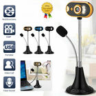 HD 720P USB Webcam Web Camera LED light with Microphone for PC Desktop Laptop US