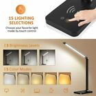5 Modes Dimmable LED Desk Bedside Reading Lamp Table Touch Control Night Light