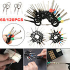 120pcs Car Terminal Removal Tool Kit Wire Connector Pin Release Extractor Puller
