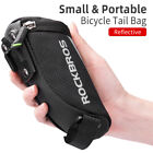 ROCKBROS Bike Bags Portable Reflective Saddle Bags Tail Seatpost Nylon Bike Bags