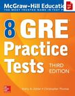 McGraw-Hill Education 8 GRE Practice Tests - 3rd Edition