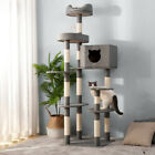 175cm Cat Tree Tower Floor to Ceiling High Scratching Post Activity Centre 68 in