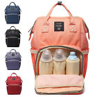 Chic Mummy Travel Backpack Large Capacity Maternity Nappy Travel Diaper  /