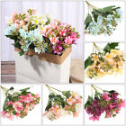 Home Accessories Fake Lily Wedding Decor Artificial Flowers Lilies Bouquet