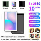 """10.1"""" Inch Tablet PC Android 10.0 Pad 256GB 10 Core WIFI Dual SIM Camera 10"""" New"""
