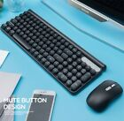 Wireless Keyboard And Mouse Combination Set Game Charging Mute Computer Keyboard