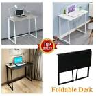 Foldable Computer Desk Folding Laptop PC Table Home Office Study Gaming- 80*45cm